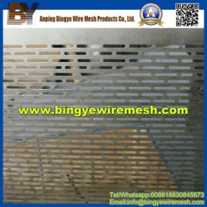 High Quality Oblong Hole Perforated Metal (manufacturer) pictures & photos