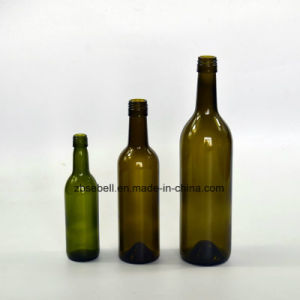 Bvs Bordeaux Glass Wine Bottle 187ml, 375ml, 750ml pictures & photos