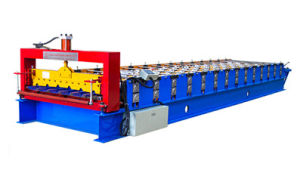 Hydraulic Metal Wall Roll Forming Machine Indian Style pictures & photos