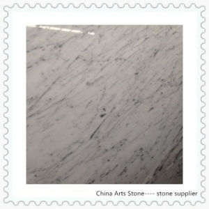 Carrara White Marble for Desk pictures & photos