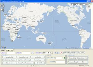 Topshine GPS Server GPS Tracking Software Platform SMS01 pictures & photos
