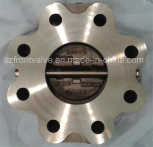 Al-Bronze C59800 Lugged Type Duo Plate Check Valve pictures & photos