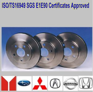 Ts16949 Approved Brake Discs pictures & photos