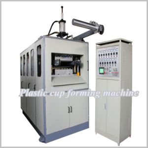 Hy-660 Pet/PP/PS/HIPS Plastic Thermoforming Machine for Cup/Bowl/Lid/Container/Tray pictures & photos