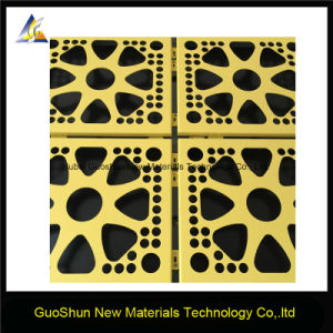 Perforated Carved Colored Decorative Material Aluminum Panel pictures & photos