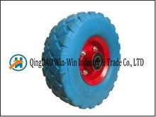 Solid PU Foam Wheel with Metal Rim (10*3.50-4) pictures & photos