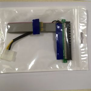PCI-E 1X to 16X Extension Card Cable pictures & photos