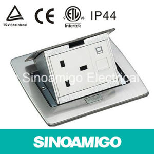RJ45 CAT6 Antenna Socket Box Floor Power Supply Outlet pictures & photos