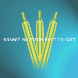 Chinese Manufacture Heat Shrink 2X Tubing (Green-Yellow) pictures & photos