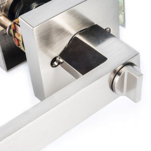 Chrome Stainless Steel Hollow Lever Set Door Lock / Door Lock with Handle pictures & photos