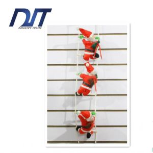 Red Sling Santa Claus Christmas Decoration Factory Direct pictures & photos