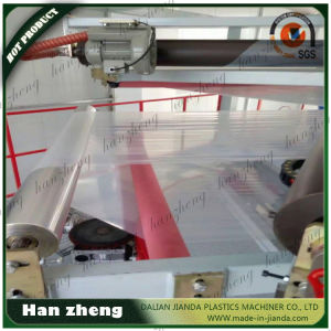 Three Layer Co-Extrusion Plastic Film Blowing Machine 45-2-55-1-1600 pictures & photos