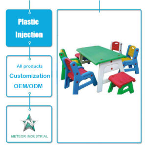 Customized Plastic Table and Chair Set Plastic Injection Mold Parts pictures & photos