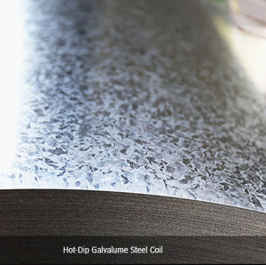 Prepainted Galvalume Steel Sheet for Roofing, Cold Rolled Sheet Excellent Insulation