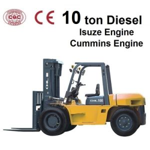 Heli 10 Ton Forklift with High-Level Quality pictures & photos