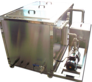 Ultrasonic Machine to Clean Machine Parts Produced by CNC Lathe and CNC Milling pictures & photos