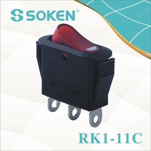 Soken Rocker Switch on-off/on-on for Electrical Appliance Rk1-11c pictures & photos