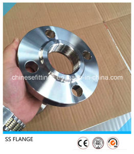 ANSI SS304 SS316 Forged Stainless Steel Slip on Threaded Flange pictures & photos