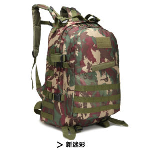 New 2017 Wholesale Travelling Canvas Military Tactical Backpack for Outdoor pictures & photos