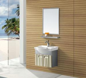 Economic Hotel Sanitary Ware Bathroom Vanity Cabine (T-9473) pictures & photos