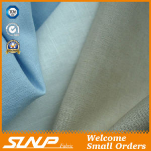 Fashion Linen Cotton Blended Fabric for Pant and Sports Wear