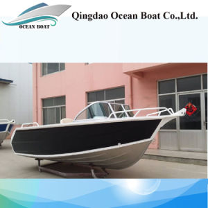 4.5m 15FT Runabout Aluminum Landing Yacht for Fisherman Leisure Boats pictures & photos