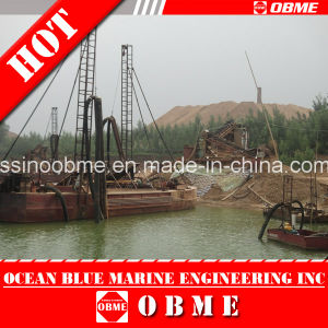 8 Inch Mining Machinery / Mining Dredge