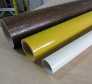 High Strength Light Weight Pultruded FRP GRP Round Tube pictures & photos
