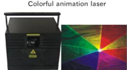 12W LED Cartoon Laser Lamp (RGB)