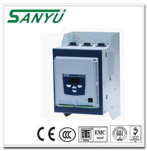 Sanyu Small Power 7.5kw Soft Starter Without by-Pass Connector Sjr2-5007 pictures & photos