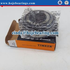 M12649/M12610 Taper Roller Bearing for Car Wheels pictures & photos