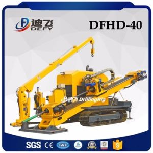 Horizontal Directional HDD Rig with Pushing Capability 40 Tons pictures & photos