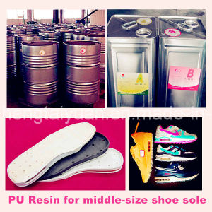 PU Resin for Middle-Size Shoe Sole Zg-P-6055/Zg-I-7818 pictures & photos