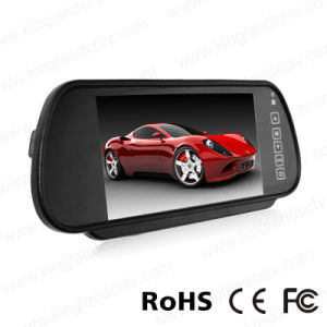 7 Inch TFT LCD Car Mirror Quad Split Monitor pictures & photos