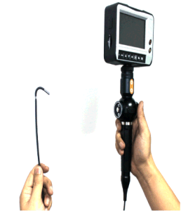 2.4mm Industrial Videoscope with 4-Way Tip Articulation, 1.2m Testing Cable pictures & photos
