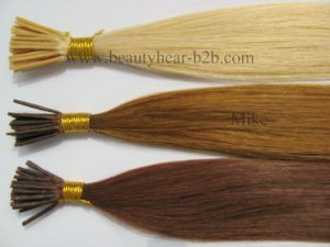 Xuchang Factory Price Best Quality I-Tip Hair Extensions Human Hair pictures & photos