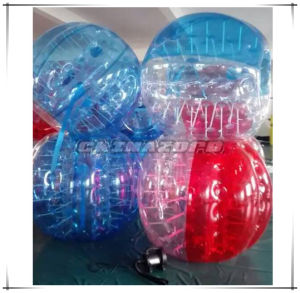 Blue&Red Color Inflatable Soccer Bubble Ball