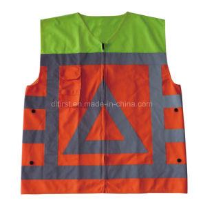 Traffic Hi Visibility Reflective Vest (DFV1090) pictures & photos