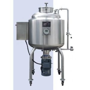 Stainless Steel Vacuum High Shear Yogurt Blending Electric Emulsifying Mixing Tank pictures & photos