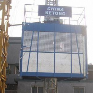 Single Cage Building Lift SC200TD pictures & photos