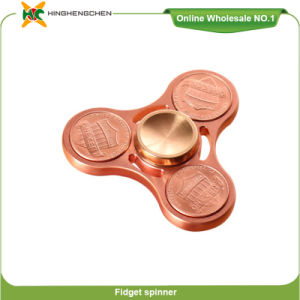 Finger Fidget Spinner Dollar Coin Shaped Anti Stress Toys Spinner pictures & photos