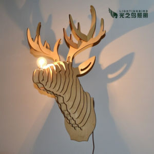 Lightingbird Creative Decoration Wooden Wall Lamp (LBMW-ML)