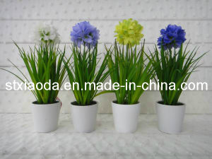 Artificial Plastic Flower Bonsai (C0282)