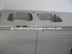 Metal Kitchen Cabinet with Wash Sink (HS-030) pictures & photos