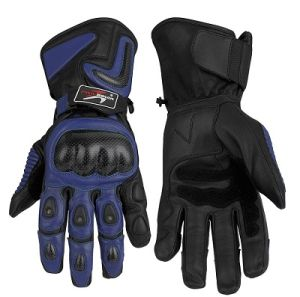 New Design Cheap Full Finger Leather Motorcycle Glove pictures & photos