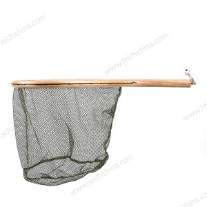 New Portable Curve Handle Fishing Nylon Landing Net pictures & photos