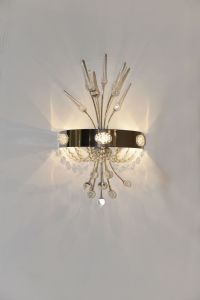 Modern Bedroom Crystal Wall Lamp (8167-3W) pictures & photos