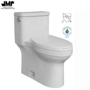 2176 Bathroom Sanitary Ware Cupc Siphonic One Piece Single Flush Ceramic Toilet pictures & photos