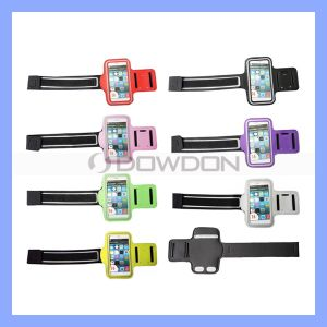 Gym Sports Running Jogging Arm Holder for iPhone Armband Mobile Bag pictures & photos