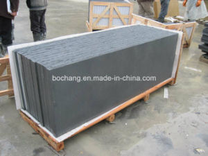 Black Sandstone for Tile Slab Paver pictures & photos
